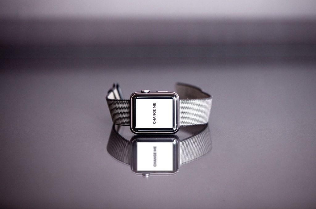 PSD макет Apple Watch