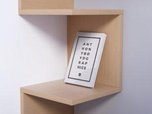 PSD макет книги
