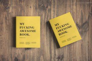 PSD мокап книг. book mockup