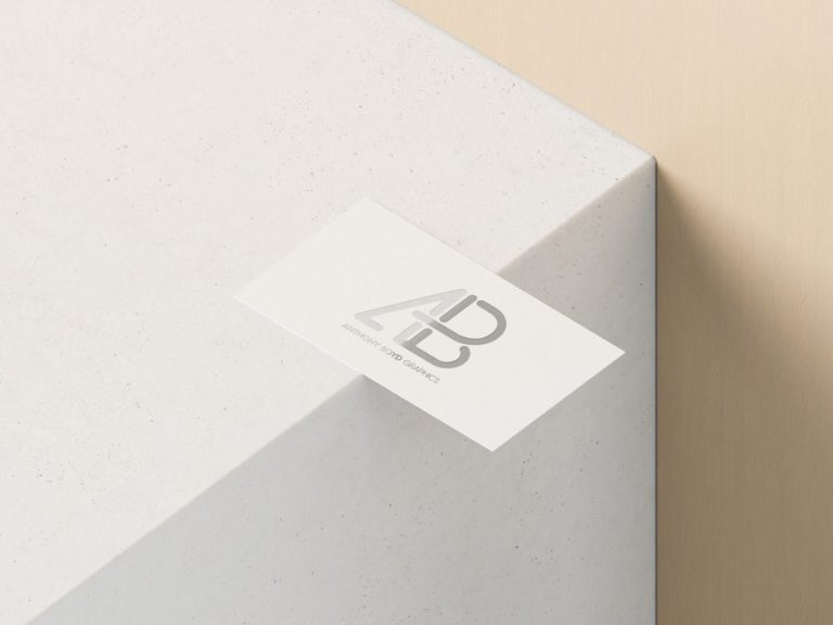 PSD макет визитки