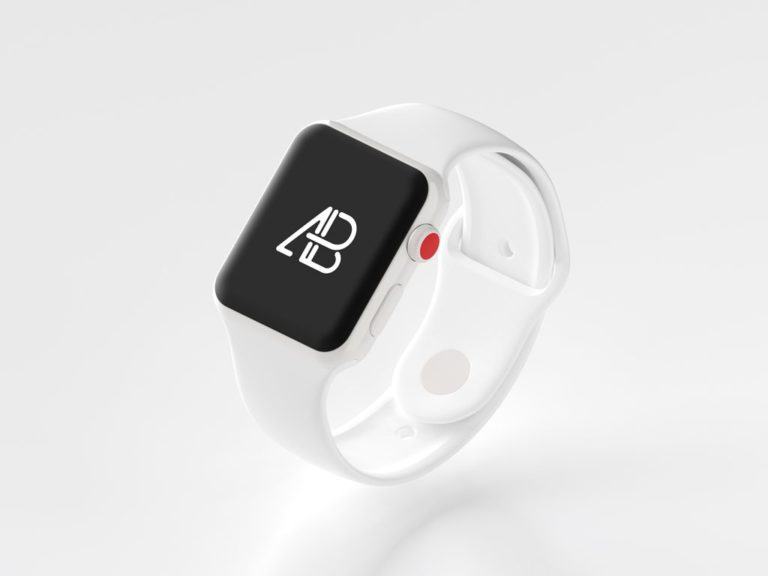 Mockup Apple Watch Series