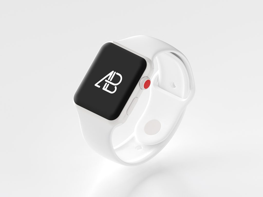 Mockup Apple Watch Series