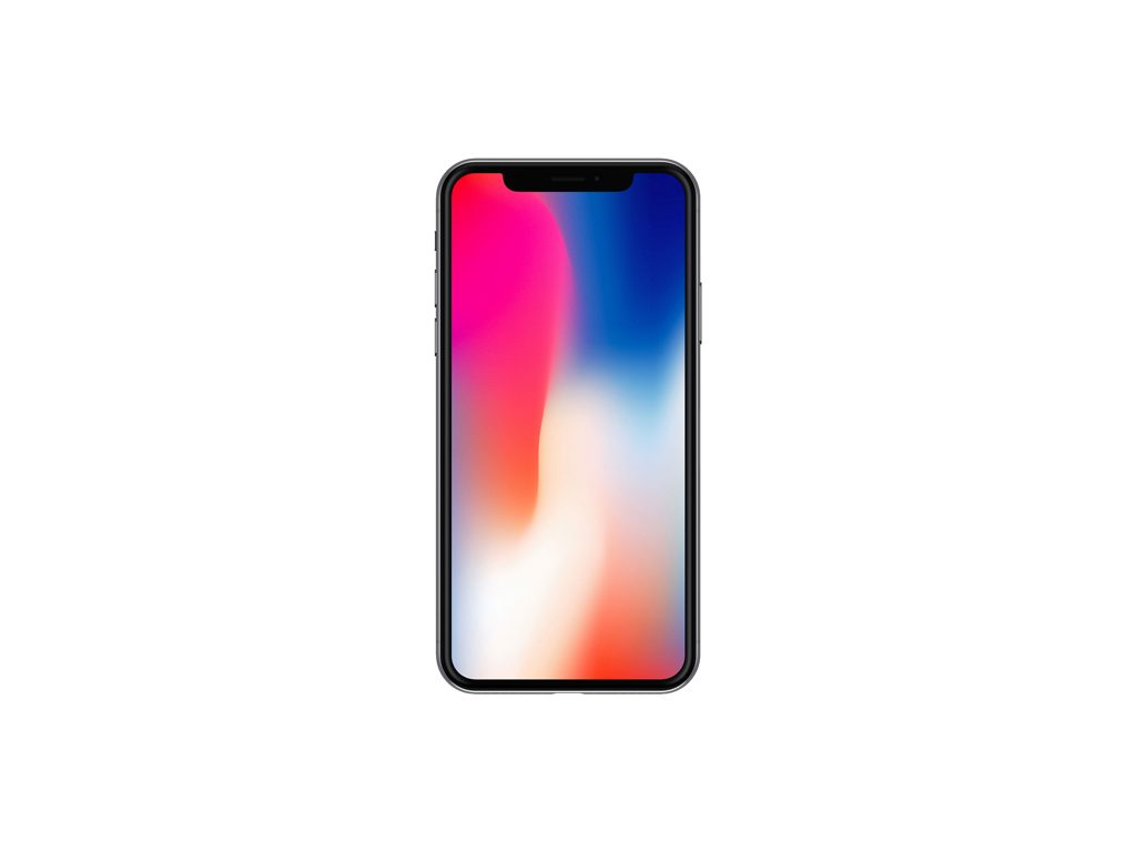 Мокап iPhone X. front view iphone x mockup