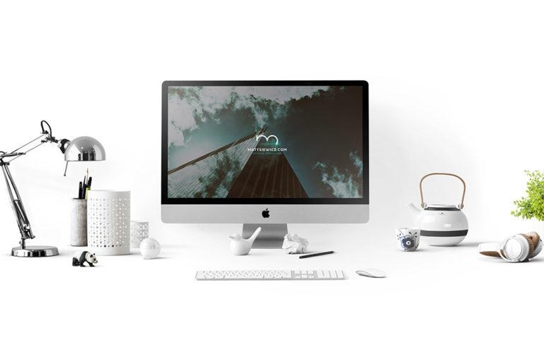 PSD мокап iMac. imac mockup
