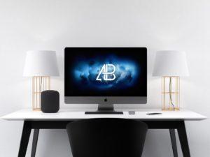 Mockup iMac Pro