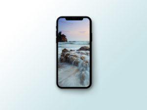 PSD мокап iPhone X. vectorized iphone x mockup