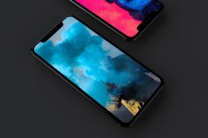 Бесплатный мокап iPhone X