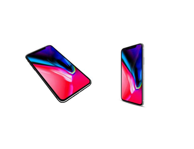 10 бесплатных мокапов iPhone X