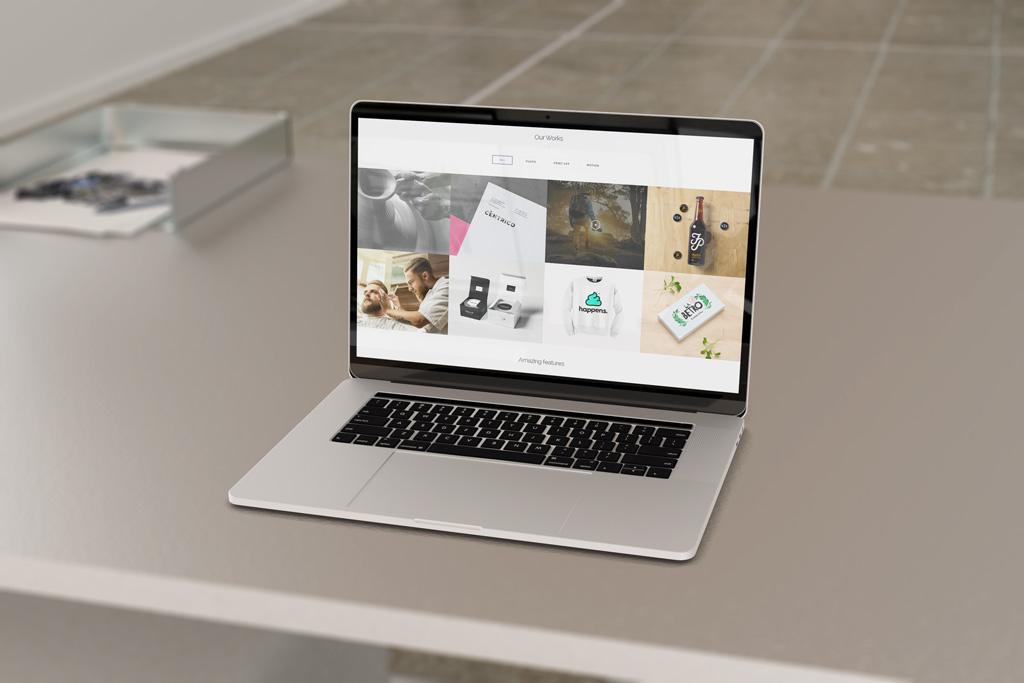 Мокап MacBook. macbook and iphone se mockup set