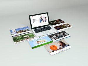 PSD мокап сайта. Оформление портфолио веб-дизайнера