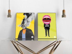 Mockup постеров. poster mockup