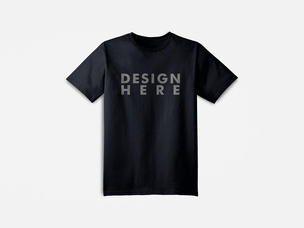 мокап мужской футболки. mens t-shirt mockup