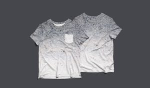 Mockup футболки с карманом