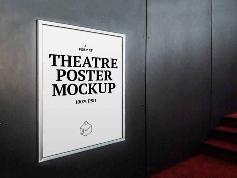 Mockup постера