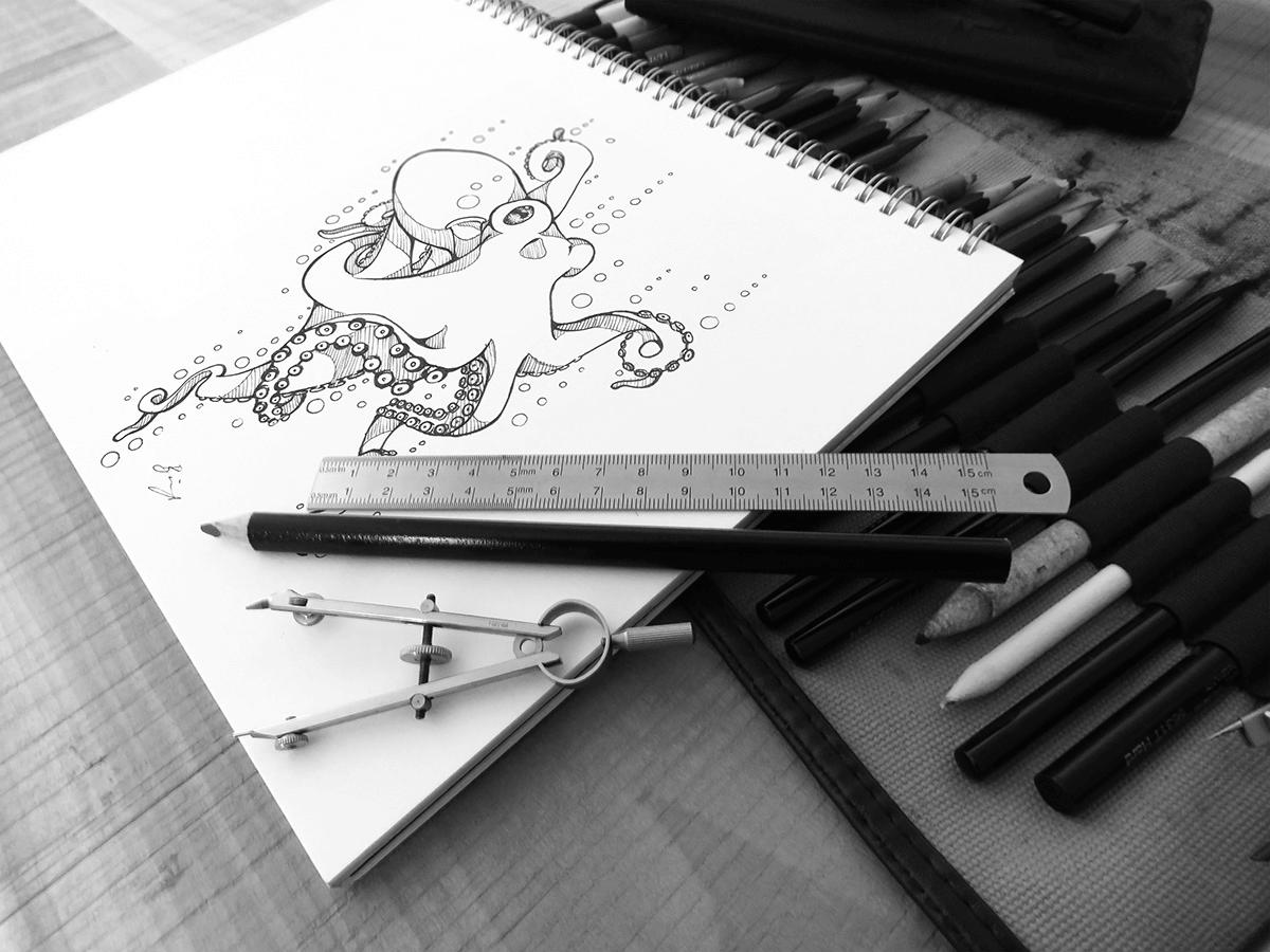 Макет альбома для рисования. art sketchbook mockup set
