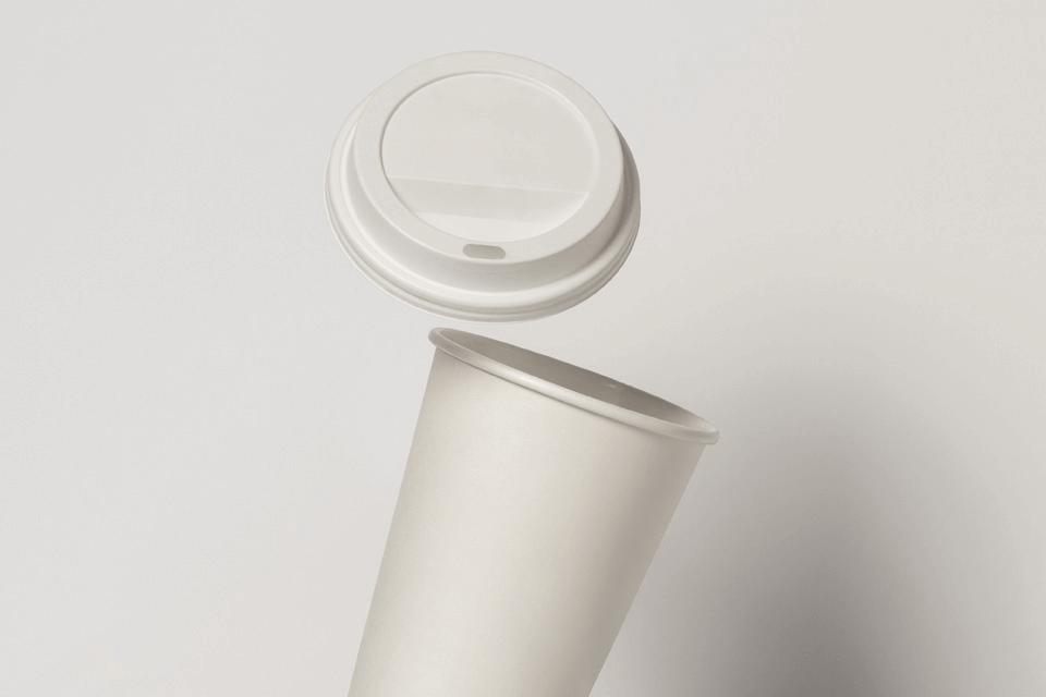 Мокап кофейного стаканчика. coffee cup mockup