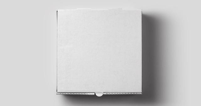 PSD мокап коробки для пиццы. pizza box mockup