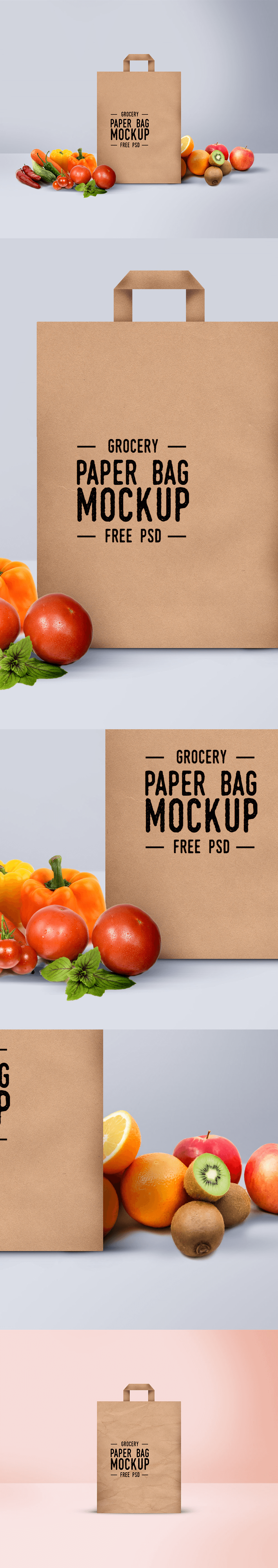 PSD мокап бумажного пакета. paper bag mockup