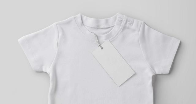 psd мокап детской футболки. baby shirt mockup