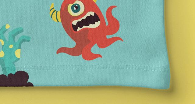 Мокап футболки для малыша. baby shirt mockup