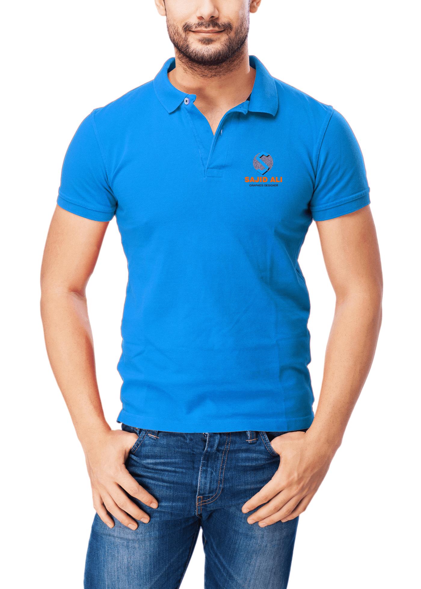 psd мокап футболки поло. set of polo shirt mockups