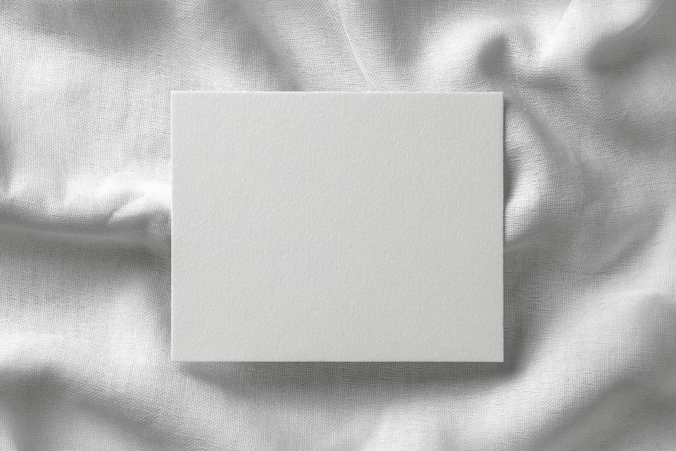 мокап пригласительной карточки. invitation card mockup