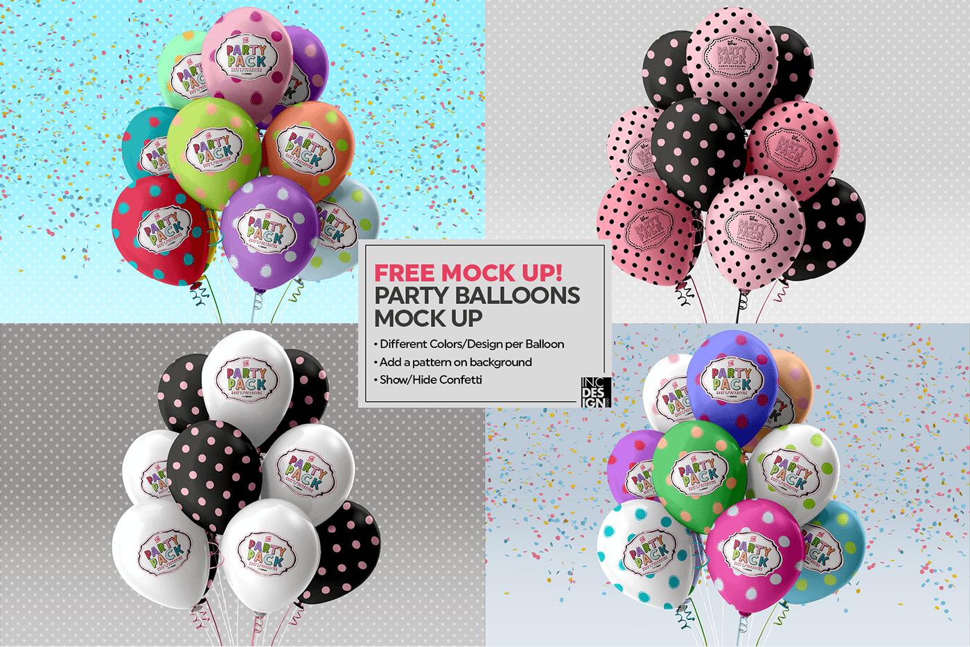 Макет воздушных шаров