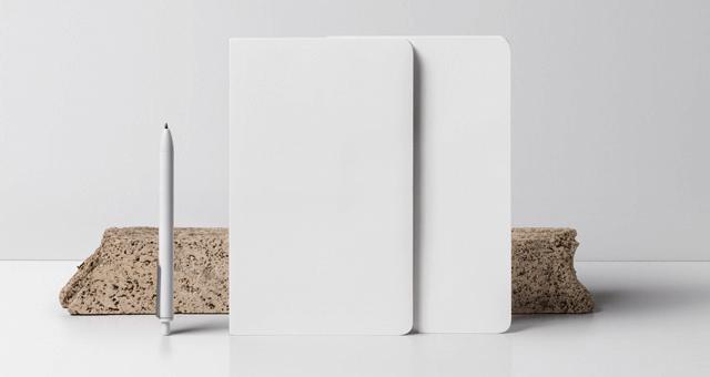 Мокап двух блокнотов. notebooks mockup