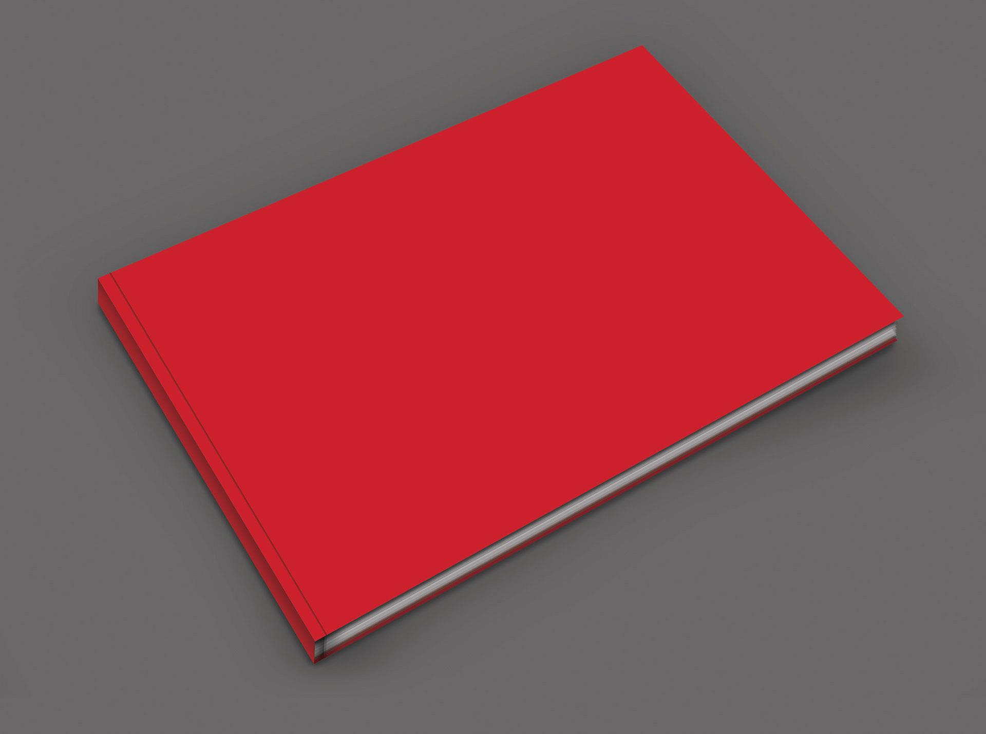 Mockup книги в твердой обложке