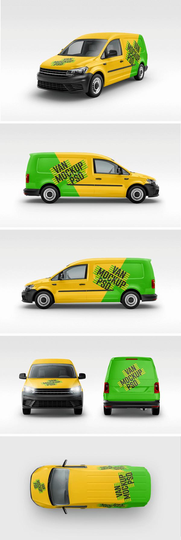 PSD mockup автомобиля